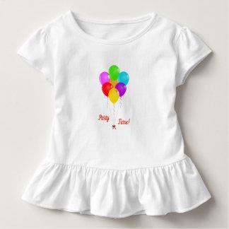 Camiseta Infantil Balões do partido