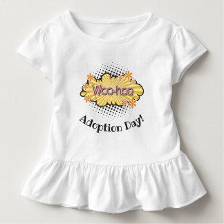 Camiseta Infantil Banda desenhada WooHoo! O T do party girl do dia