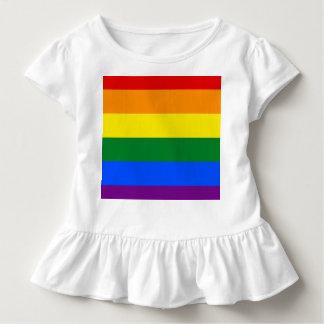 Camiseta Infantil Bandeira do arco-íris