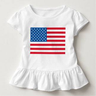 Camiseta Infantil Bandeira dos Estados Unidos da bandeira dos EUA