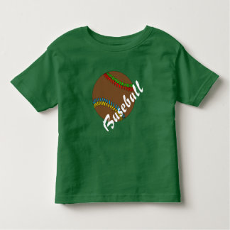 Camiseta Infantil Basebol feliz pelos Feliz Juul Empresa