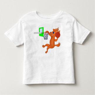 Camiseta Infantil Basquetebol feliz pelos Feliz Juul Empresa