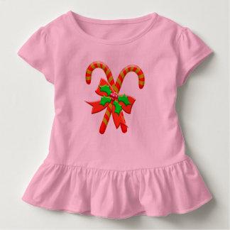 Camiseta Infantil Bastões do Natal