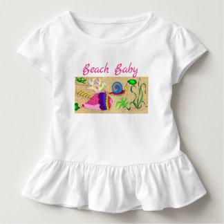 Camiseta Infantil Bebé da praia