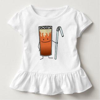Camiseta Infantil Bebida feliz Tailândia do chá gelado tailandês &