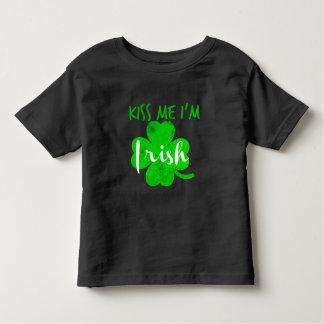 Camiseta Infantil beije-me o irlandês im