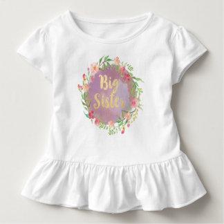 Camiseta Infantil Blusa da irmã mais velha