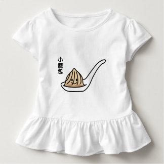 Camiseta Infantil Bolo chinês de Dim Sum da bolinha de massa da sopa