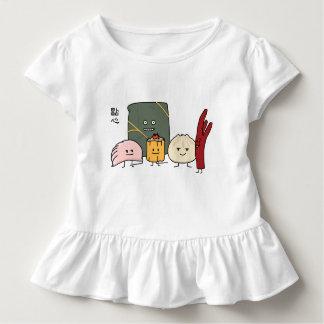 Camiseta Infantil Bolo chinês dos bolos da bolinha de massa de Bao