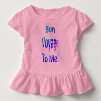 Camiseta Infantil Bon voyage a mim 0l