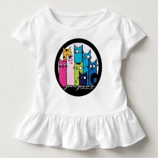 Camiseta Infantil bonito, subtil e plissados! Peepers!