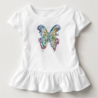 Camiseta Infantil Borboleta colorida