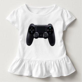 Camiseta Infantil Branco do logotipo de Youtube