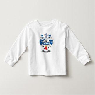 Camiseta Infantil Brasão da crista da família de Douglas