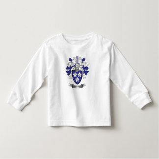 Camiseta Infantil Brasão da crista da família de Fraser