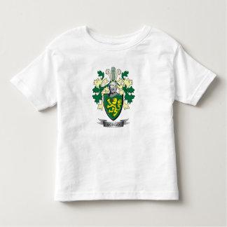 Camiseta Infantil Brasão da crista da família de Morgan