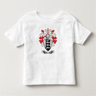 Camiseta Infantil Brasão da crista da família de Taylor