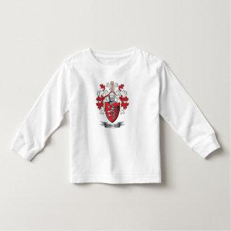 Camiseta Infantil Brasão da crista da família do preço