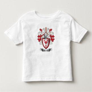 Camiseta Infantil Brasão de vidro da crista da família
