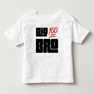 Camiseta Infantil 💯 Bro grande