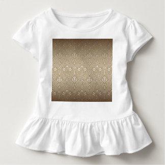 Camiseta Infantil Bronze, ouro, nouveau da arte, art deco, vintage,