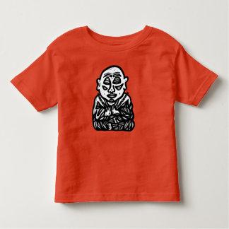 """Camiseta Infantil """"Buddha Pray"""" o t-shirt da criança"""