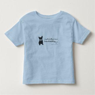 Camiseta Infantil buldogue francês