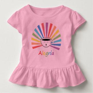Camiseta Infantil Café com sentimentos