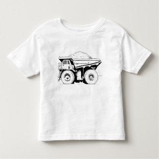 Camiseta Infantil Camião basculante