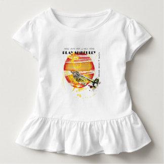 Camiseta Infantil Cante até ele uma canção nova