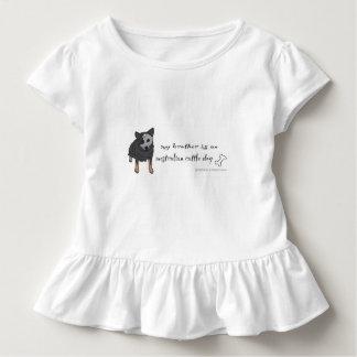 Camiseta Infantil cão australiano do gado