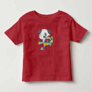 Camiseta Infantil Cão da consciência do autismo