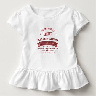 Camiseta Infantil Capítulo 5 de Ephesians e caminhada no amor