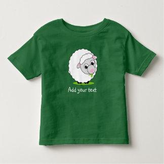 Camiseta Infantil Carneiros woolly brancos bonitos e peluches do