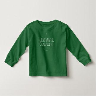 Camiseta Infantil Caro Papai noel