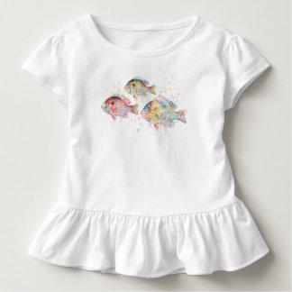 Camiseta Infantil Carpas coloridas
