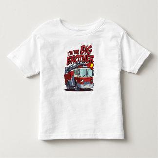 Camiseta Infantil Carro de bombeiros do big brother