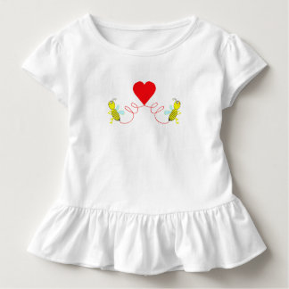 Camiseta Infantil casal das abelhas