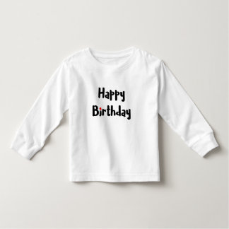 Camiseta Infantil Celebração vermelha do coração do texto Loving do