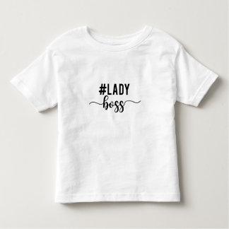 Camiseta Infantil chefe da senhora