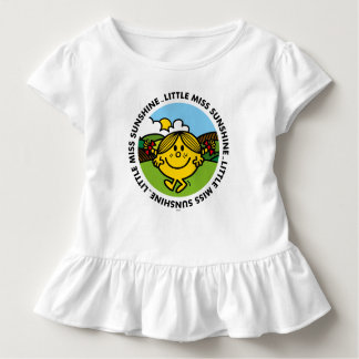Camiseta Infantil Círculo pequeno da luz do sol da senhorita Luz do
