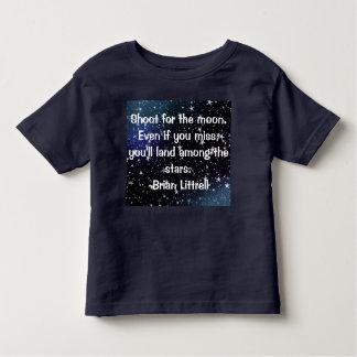 Camiseta Infantil Citações inspirando e bonitos para o t-shirt dos