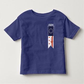 Camiseta Infantil CKDF pouco t-shirt da criança de Fechter