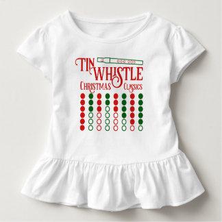 Camiseta Infantil Clássicos CUSTOMIZÁVEIS do Natal do assobio de