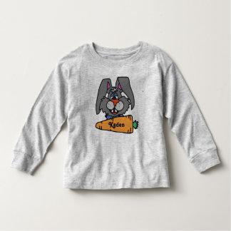 Camiseta Infantil Coelhinho da Páscoa bonito camisa-personalizado!!!