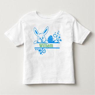 Camiseta Infantil Coelhinho da Páscoa e ovo personalizados
