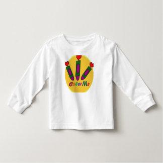 Camiseta Infantil Colora-me:)
