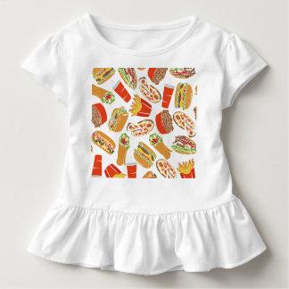 Camiseta Infantil Colorful Pattern ilustração Jejuas Food