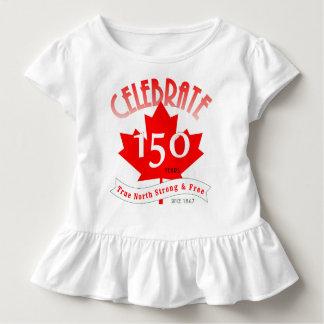 Camiseta Infantil Comemore Canadá 150 anos