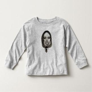 Camiseta Infantil Como uma boneca